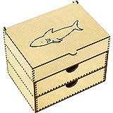 Azeeda 'Shark' Vanity Case / Makeup Box (VC00005692)