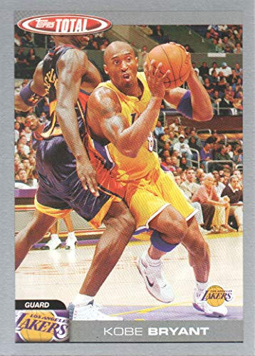 2004-05 Topps Total Basketball Cards Silver #39 Kobe Bryant Los Angeles Lakers