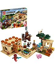LEGO Minecraft The Villager Raid 21160 Building Toy Action Playset for Boys and Girls Who Love Minecraft