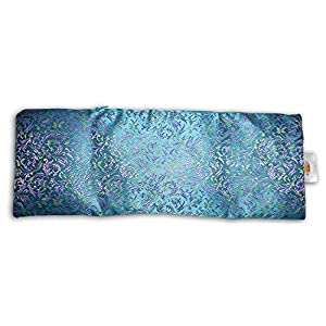 Extra Large Eye Pillow: Lavender & Flax seed filled, with carry pouch. Doubles as a luxurious heat/cooling sack