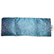 OVERSIZED EYE PILLOW: Lavender & Flax seed filled, with carry pouch. Doubles as a luxurious heat/cooling sack