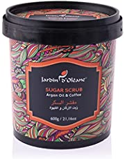 Jardin D Oleane Sugar Scrub Argan Oil and Coffee, 600G