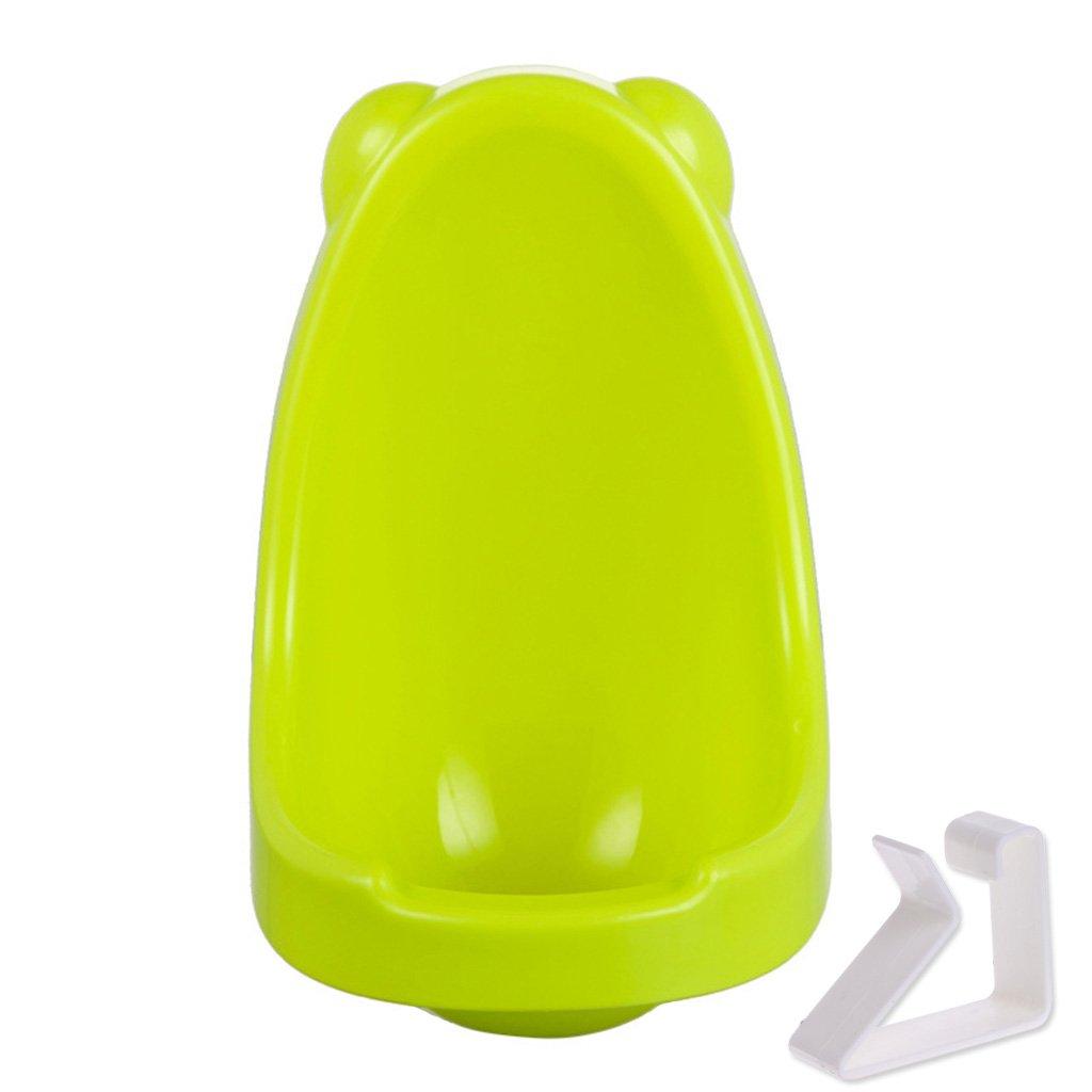 A0127 Urinoir Pot pour enfants Pot Portable Toilette b/éb/é Enfant b/éb/é gar/çon Urinoir debout Toilette b/éb/é Urinoir mural Formateur Blanc