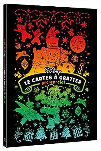 Disney Les Ateliers Bloc 12 Cartes A Gratter Arc En Ciel Noel Special Noel French Edition 9782017088974 Amazon Com Books