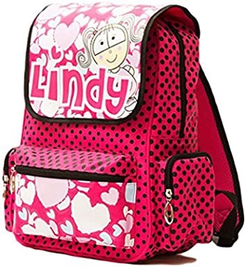 Lindy Hot Pink School Backpack for Girls - Lindy And Friends Backpacks 78b4fd3de3825