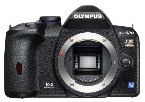 OLYMPUS デジタル一眼レフカメラ E-520 ボディ E-520
