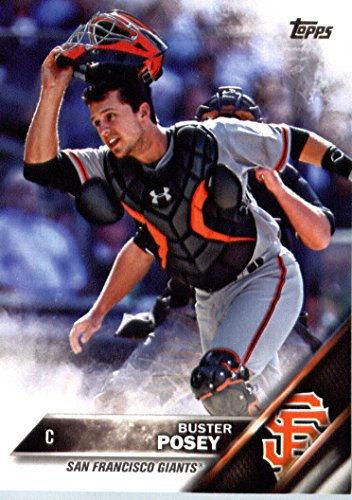 2016 Topps #300 Buster Posey San Francisco Giants Baseball Card