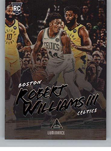 - 2018-19 Luminance #149 Robert Williams III Boston Celtics Rookie Basketball Card