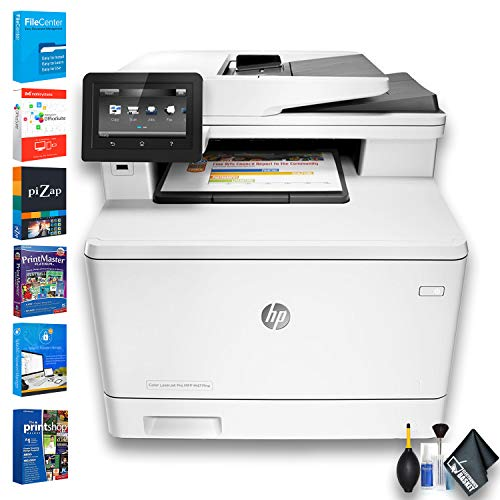 HP Color Laserjet Pro M477fnw All-in-One Laser Printer (CF377A) W/Printer Essentials Software