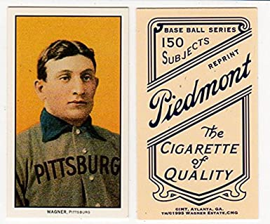 T 206 Honus Wagner 1909 11 Reprint Baseball Card At Amazons Sports