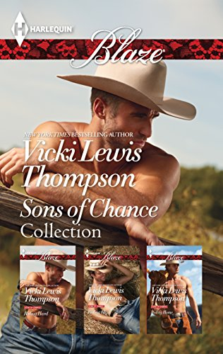 Mills & Boon : Vicki Lewis Thomson Sons Of Chance Collection - 3 ...