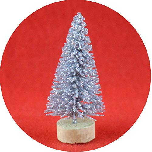 DIY Christmas Tree 4 Colors Small Pine Tree Mini Trees Placed in TheChristmas Decoration Kids -