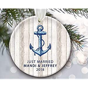 51n1zZArhoL._SS300_ 75+ Anchor Christmas Ornaments