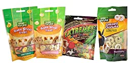 Wild Harvest Small Animal Treats, 2.2 Ounce (4 Flavor Variety Pack)