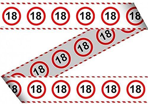 15 metros Cumpleaños banda 18 años Fiesta Decoración Fiesta de cumpleaños