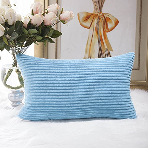HOME BRILLIANT Obong Rectangle Throw Pillow Cover Cushion Co