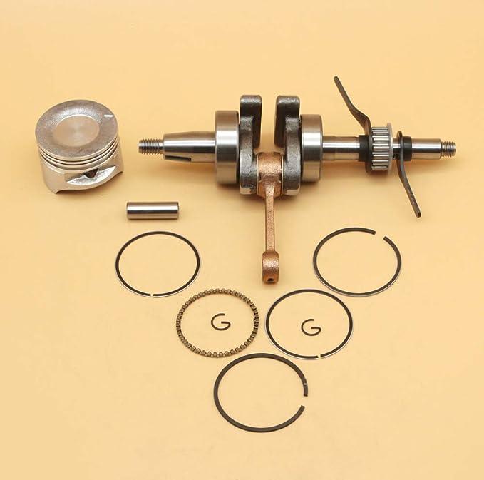 Kit de anillo de pistón del cigüeñal del eje del cigüeñal 39MM ...