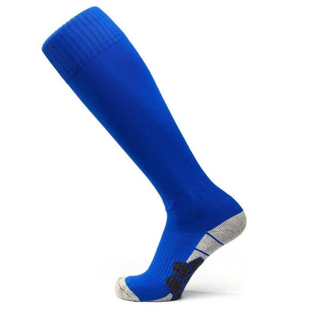 MUBFT running socks Soccer Socks Football Training Socks Unisex Knee Autumn High Sport Long Socks