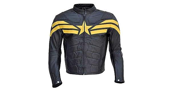 Stormwise Mens Fashion Real Grey Leather Jacket