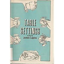 Table Settings: A Play