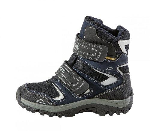 McKinley Kinder Schuhe Stiefel Bozen Navy Winterschuhe Winterstiefel Wasserdicht
