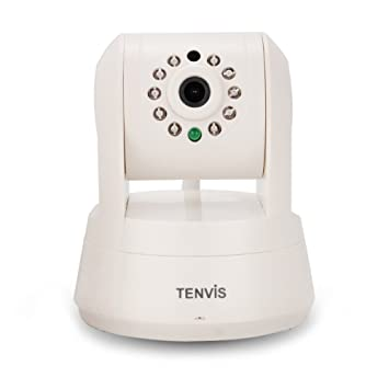 Tenvis IPROBOT3 720P HD P2P Wireless IP Camera Webcam Wi-Fi Pan & Tilt  Network Camera CCTV Security Monitor with 2-way Audio, Night Vision and  Micro