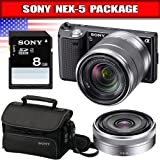 Sony NEX52LENSBDL 14.2 MP Digital SLR Camera