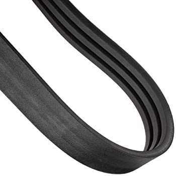 """Continental ContiTech HY-T Torque V-Belt, 3/C360, Banded, 3 Rib, 2.64"""" Width, 0.53"""" Height, 360"""" Approx. Inside Length"""