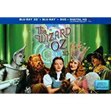 WIZARD OF OZ-75TH ANNIVERSARY (BLU-RAY/DVD/3-D/4 DISC/ULT COLLECT) (3-D) WIZARD OF OZ-75TH ANNIVERS