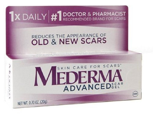 Mederma Skin Care Advanced Scar Gel, 0.7 Oz (Pack of 2)