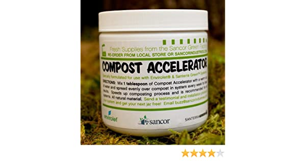 Amazon.com : Envirolet Compost Accelerator (16oz jar) : Outdoor And Patio Products : Garden & Outdoor