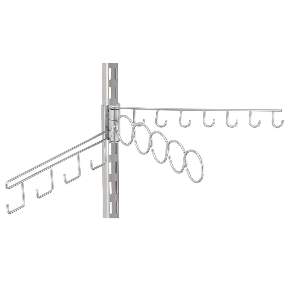 iDesign Tru-Grasp Swing Accessory Organizer White