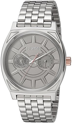 Nixon Men's 'Star Wars Phasma' Quartz Stainless Steel Casual Watch, Color:Silver-Toned (Model: A922SW2445-00)