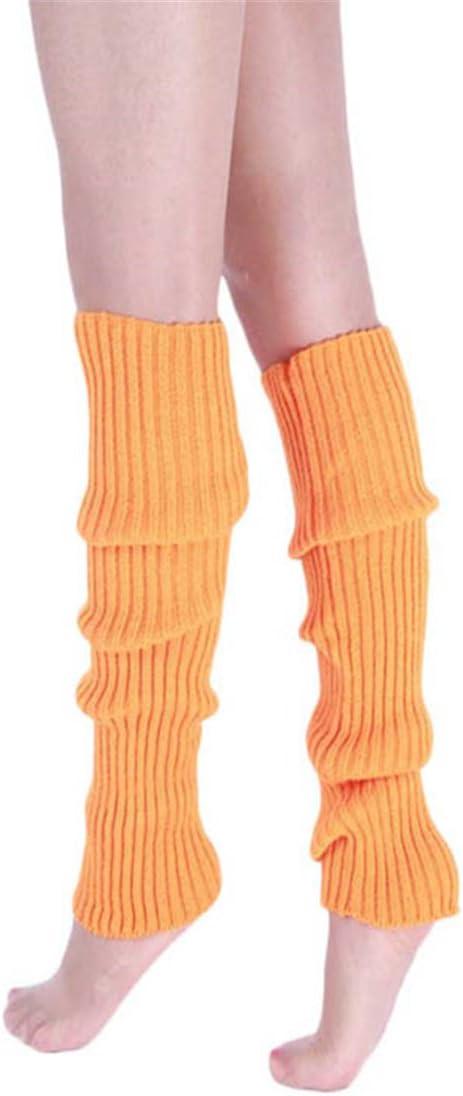 Cotton Leg Warmers Socks,Hemlock Womens Girls Keep Warm Knitting Leg Stocking Boot Covers White