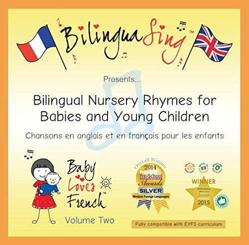 LOVED BY BABIES & PARENTS! French Nursery Rhymes CD | French for Toddlers | BILINGUASING Vol. 2 CD (Baby Loves French) ...