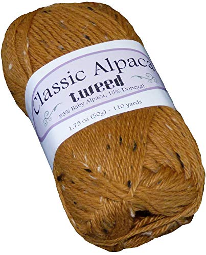 Finery Classic Alpaca Tweed 85% Baby Alpaca 15% Donegal Yarn #2920