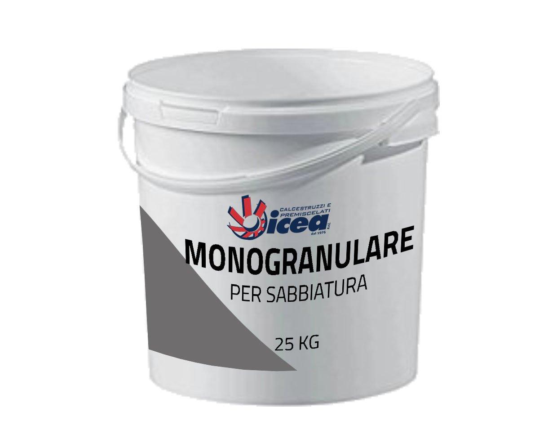 25 kg monogranulare para sabbiatura 0,7 –  1,7 mm –  Arena de basalto lavico abrasivo del Etna para lijado y raspado, excelente para todas Le sabbiatrici 7-1 ICEA