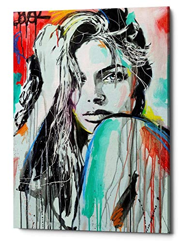 - Epic Graffiti in in Spirit by Loui Jover Canvas Wall Art, 18