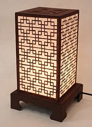 Mulberry Rice Paper Shade Lattice Pattern Korean Window