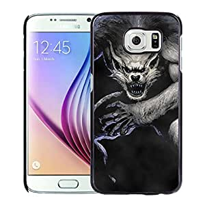 Beautiful And Unique Designed With Werewolf Wolf Jump Fog For Samsung Galaxy S6 Phone Case