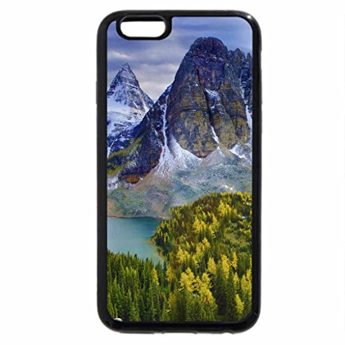 iPhone 6S / iPhone 6 Case (Black) mountain lakes in autumn