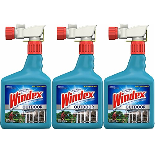 Windex Outdoor Glass and Patio Concentrated Cleaner 32 fl oz (Pack of 3) by Windex (Image #1)