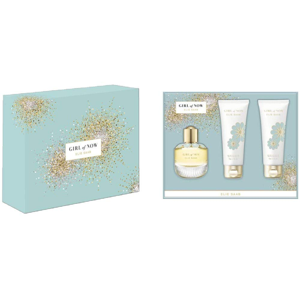 Elie Saab Girl of Now EDP 50ml Gift Set +Body Lotion 75ml + Shower Gel 75ml