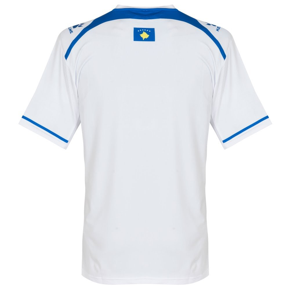 Kosovo Away Camiseta 2017 2018, Hombre, Blanco, Extra-Large ...