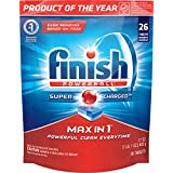 Finish Max in 1 Fresh Automatic Dishwasher Detergent Tablets, 26 Count (Packaging May Vary)