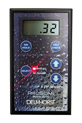 Delmhorst PROSCANW/CS Digital Scan Moisture Meter for Wood, Pinless