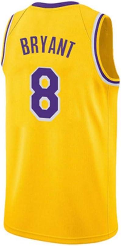 Ati nice Camisetas de Baloncesto Lakers # 8 Kobe Bryant Retro ...