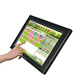 Bosstouch 15inch LCD Touch Screen Monitor for Advisement display 1024768 15PIN VGA Connect USB Touch Control