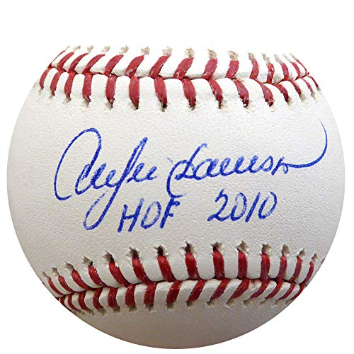 Andre Dawson Autographed Official MLB Baseball Cubs, Expos