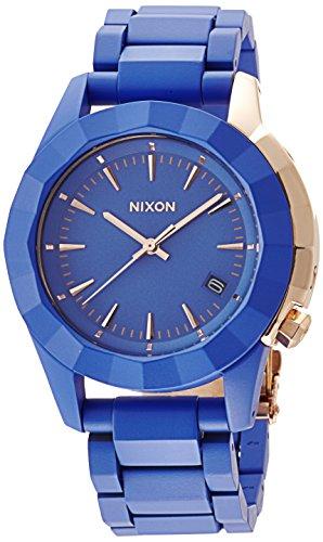 Nixon Monarch Watch - Women's Cobalt/Antique Copper, One Size